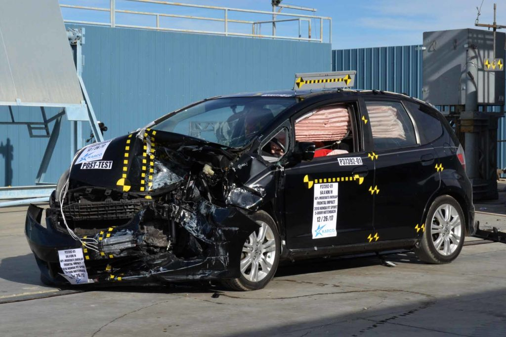OEM Crash Test Vehicle Causes Minor Injuries in Tracy Law Firm analysis